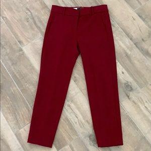 J. Crew Cameron Slim Cropped Pants